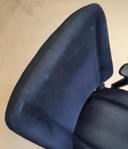 Kontorsstol med comforttyg rygg