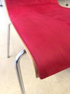 Ren stol efter Nordisk interiörtvätt utfört möbeltvätt åt denna kund